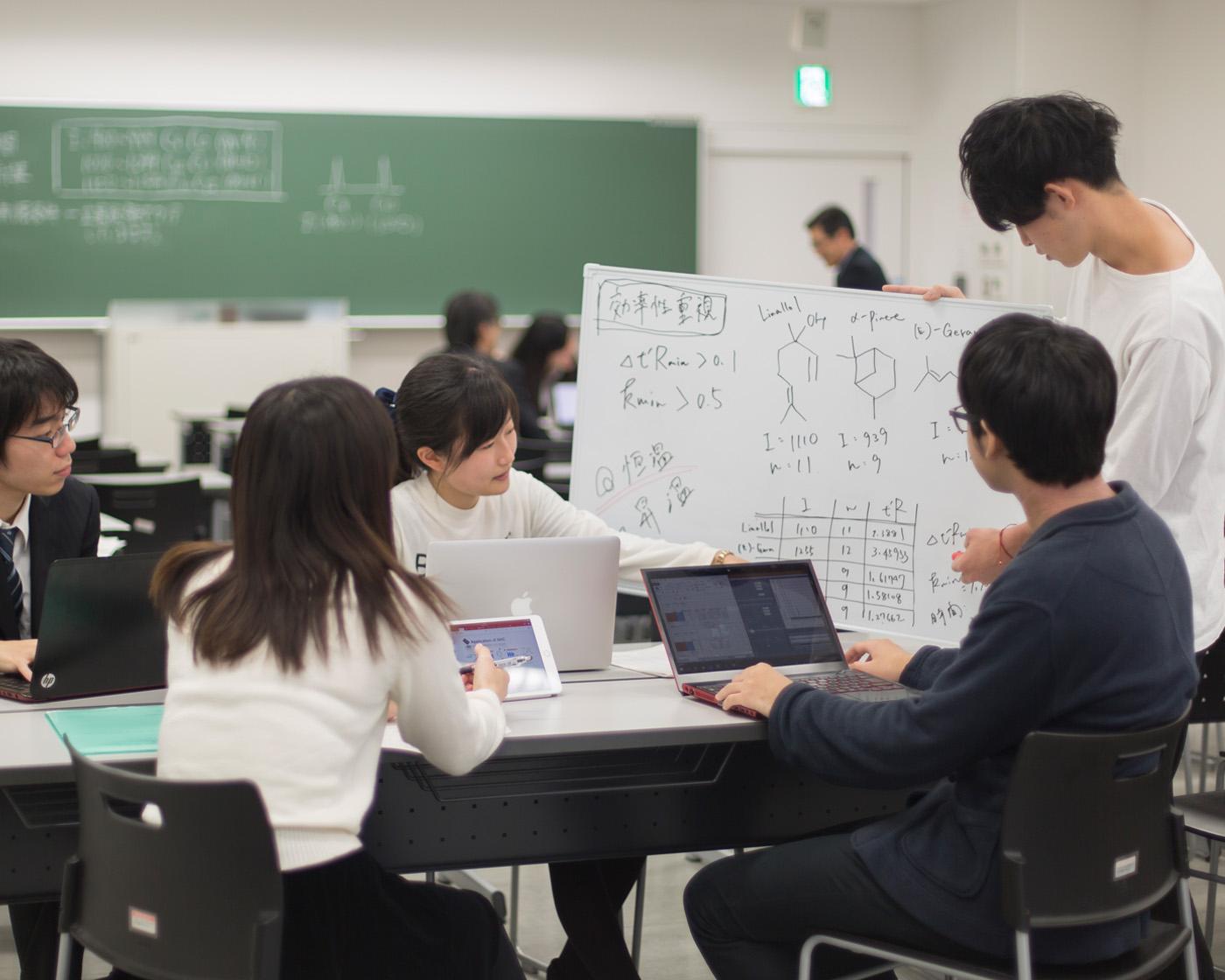 国際化学技術者コース|コース紹介|日本大学生産工学部 応用分子化学科